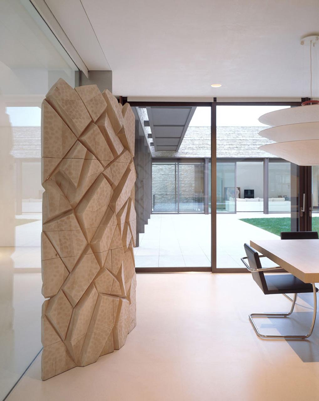 Menhir in linden wood