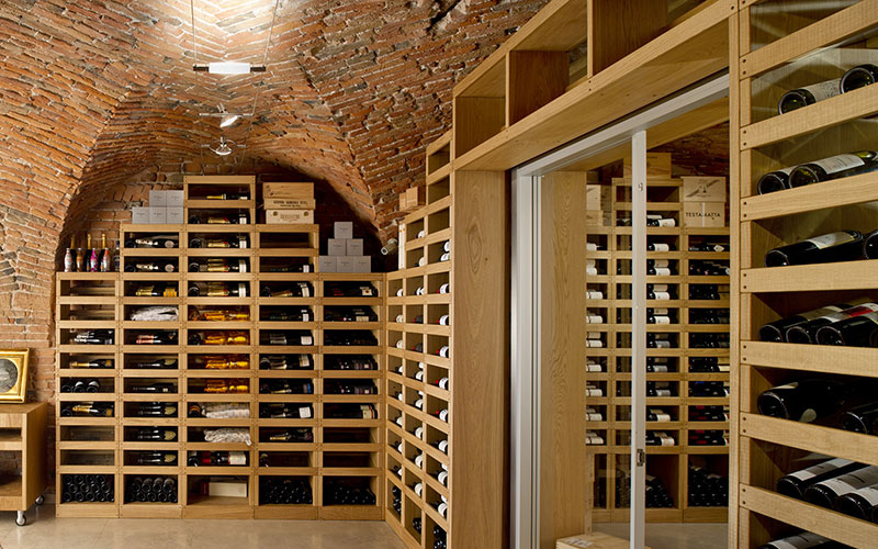 Wine Cellar, Private Villa Cucine Habito