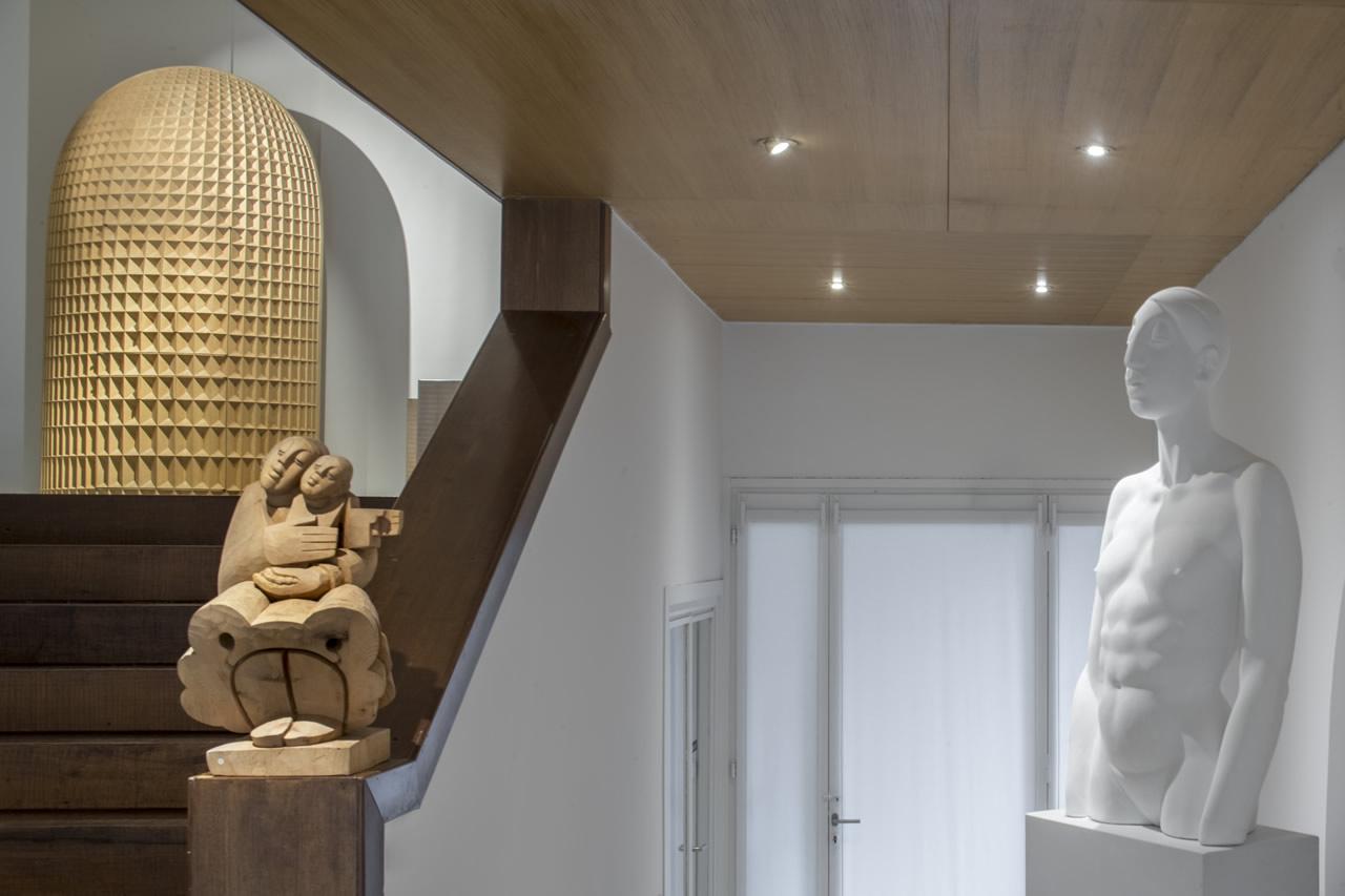 Giuseppe Rivadossi's sculptures