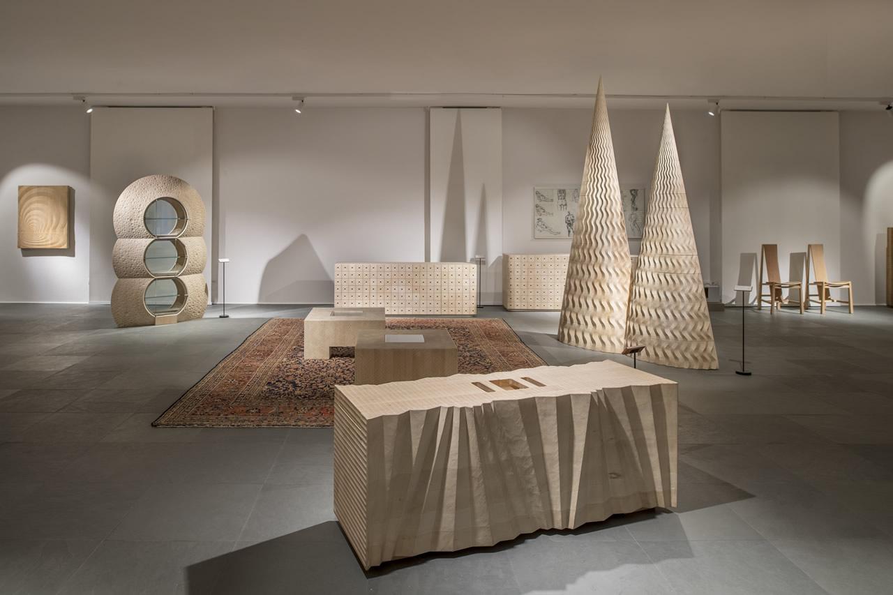 Atelier Habito di Giuseppe Rivadossi exhibition
