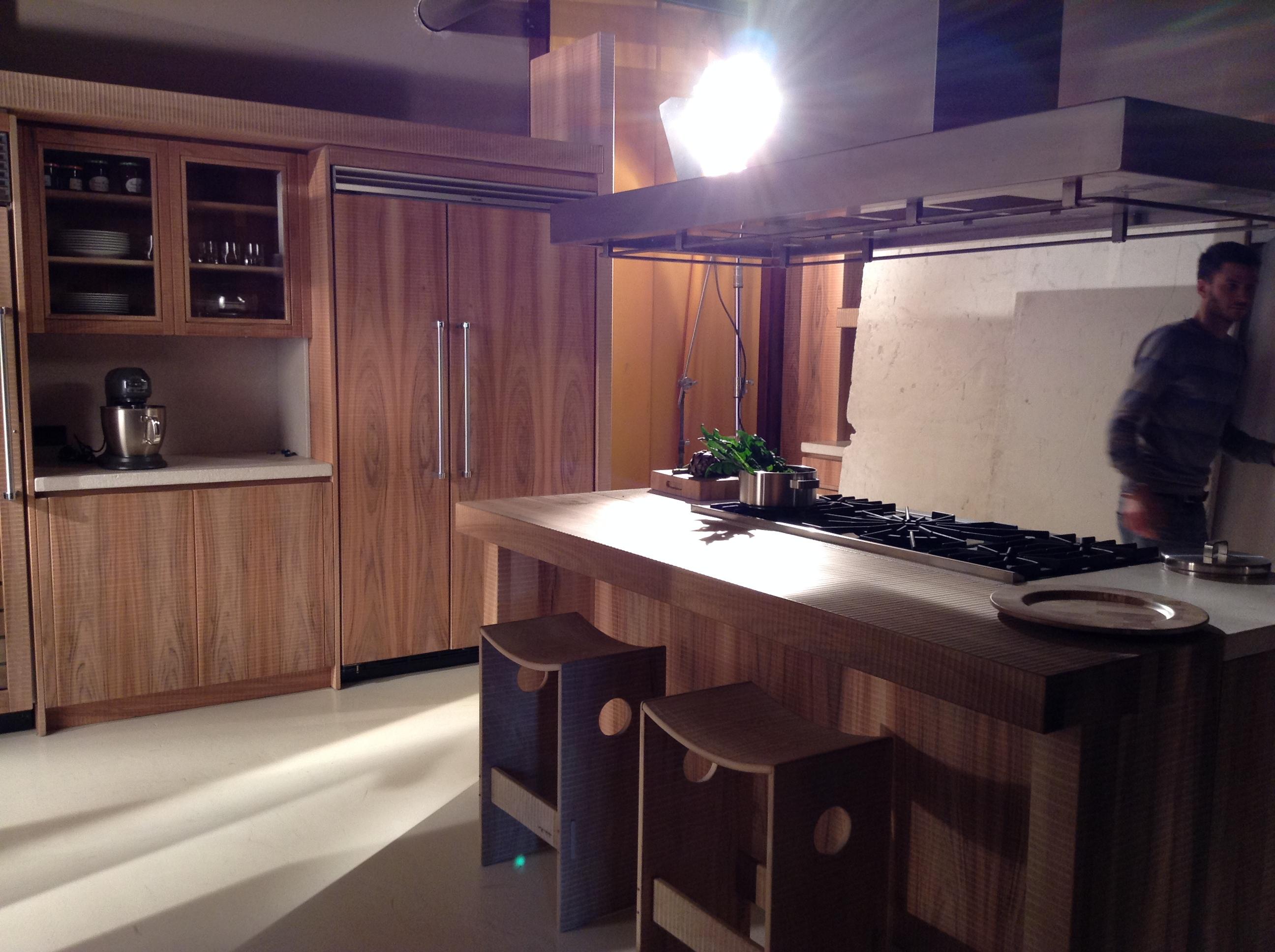 Habito Catalogue 2015 Work in Progress. Wood kitchen set