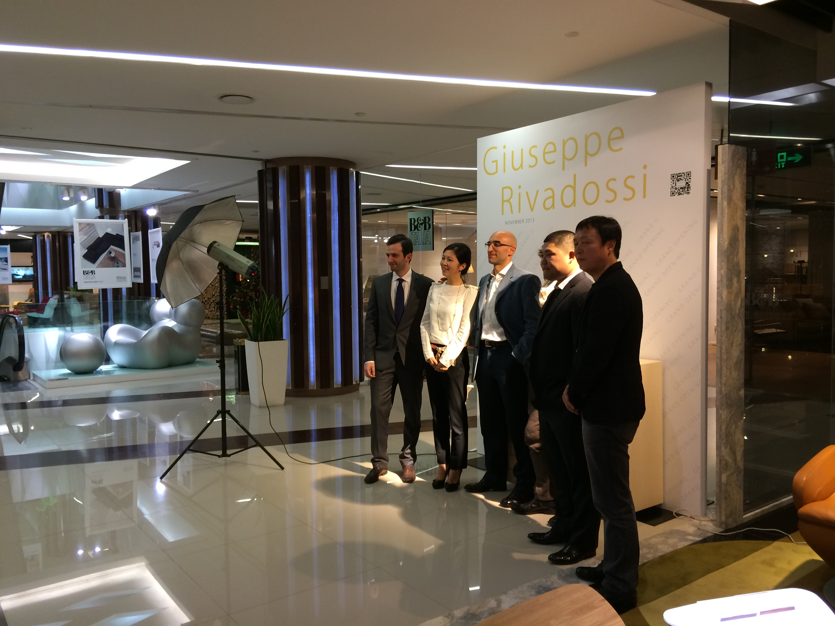 With the Partners – Opening Ceremony JSWB Furniture Mall, Shanghai