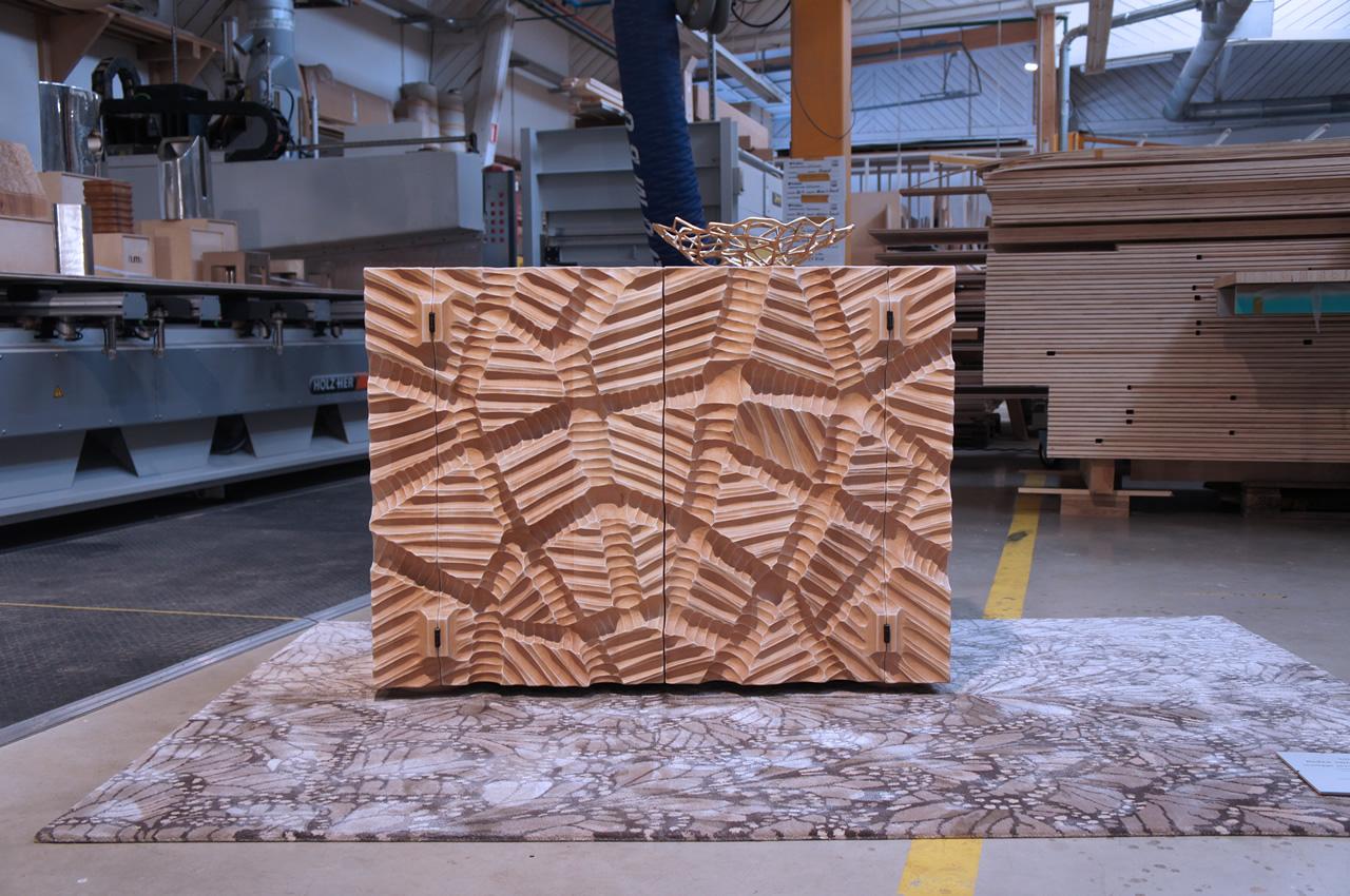 Madia Dolmen (Wood furniture design)