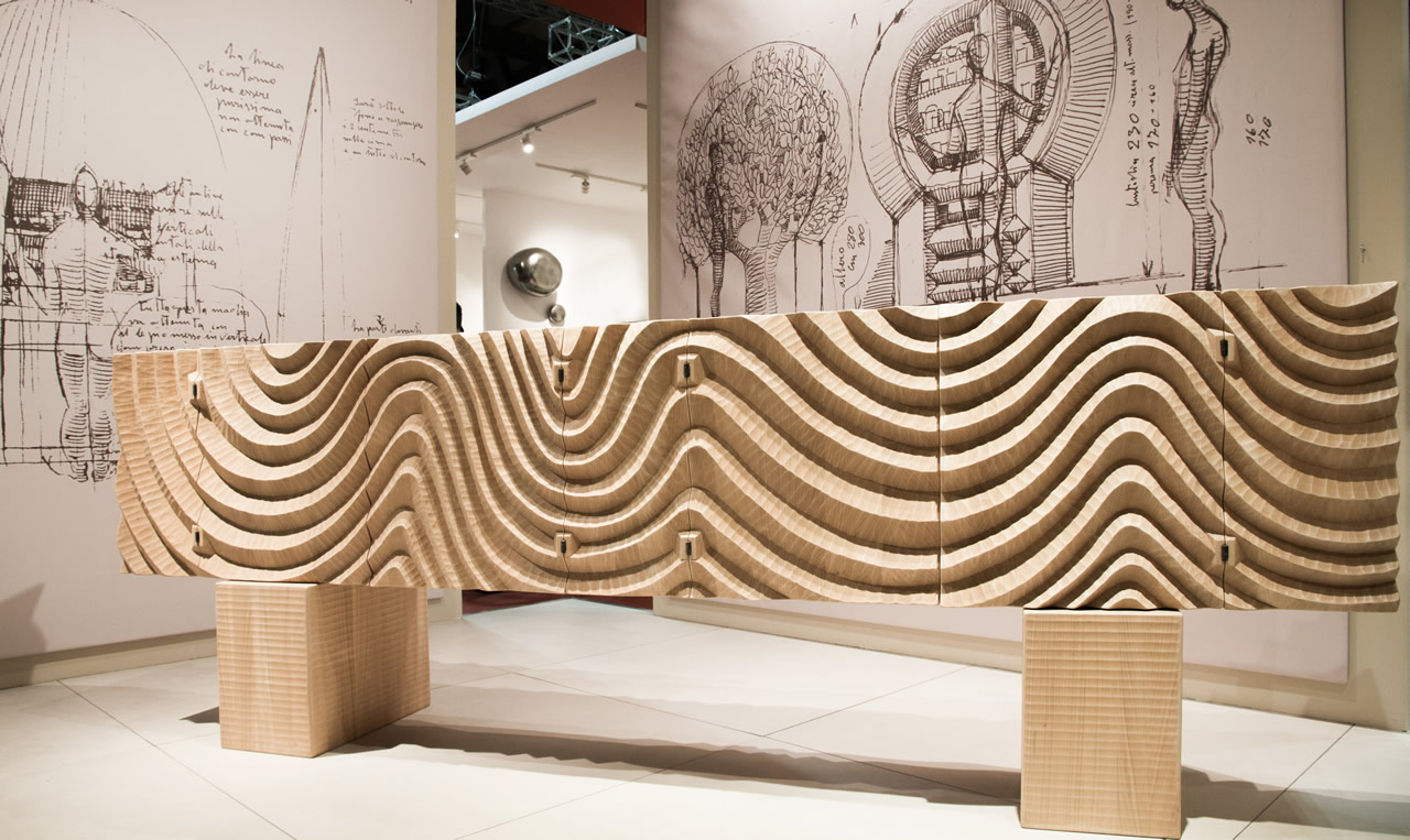 Madia del Ponto - Salone del Mobile di Milano (Milan Furniture Fair) 2016