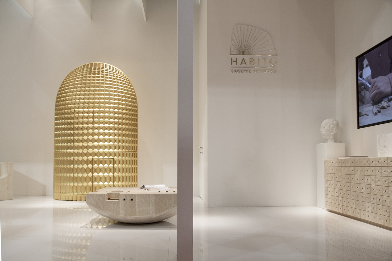 HABITO stand at the Milan Furniture Fair 2015