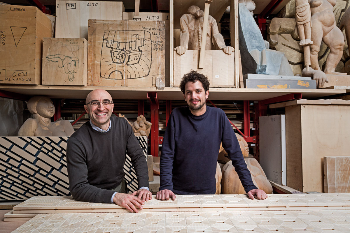 Emanuele Rivadossi and Lex Pott