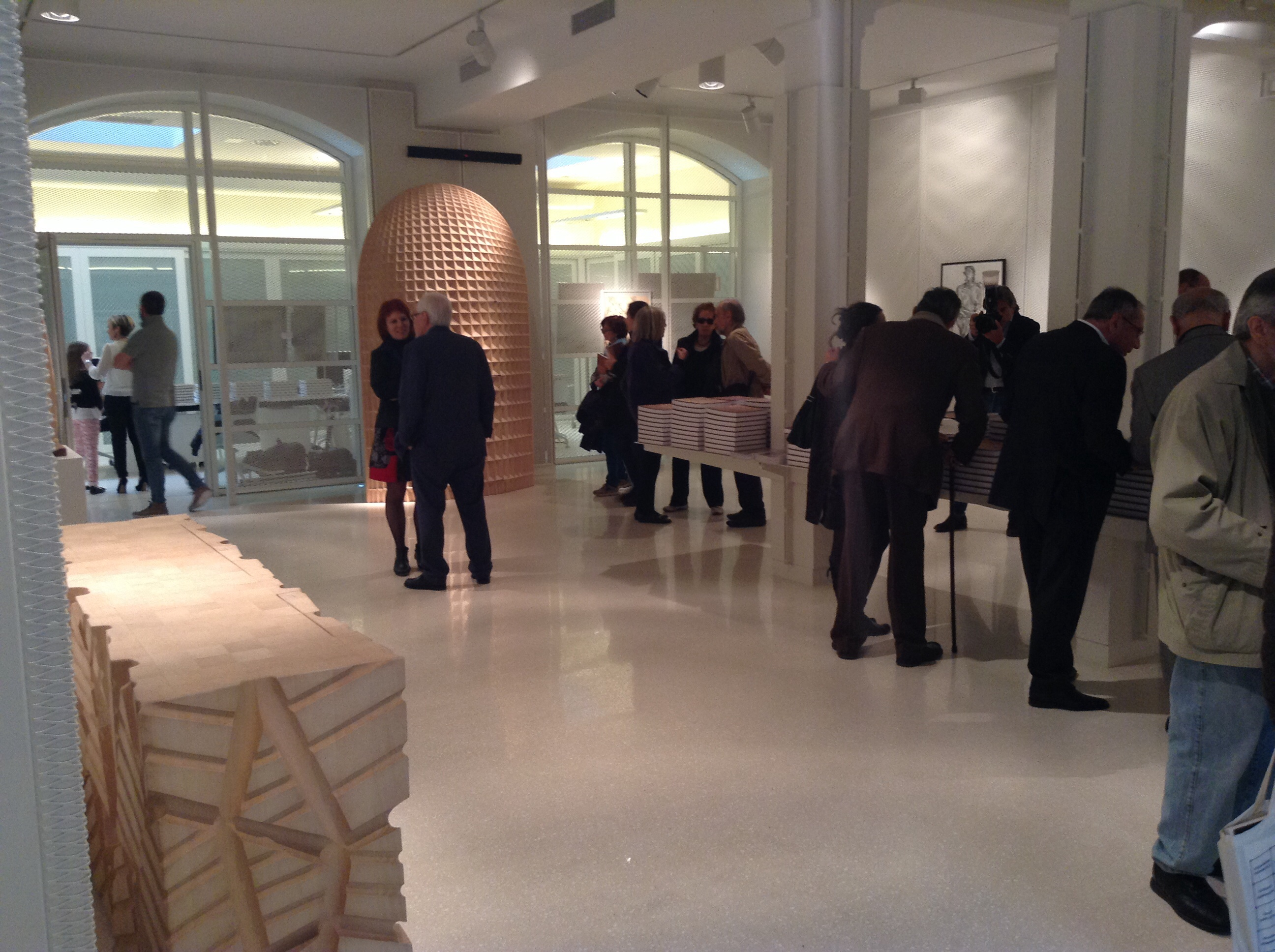 Great turnout at the Giuseppe Rivadossi's exhibition