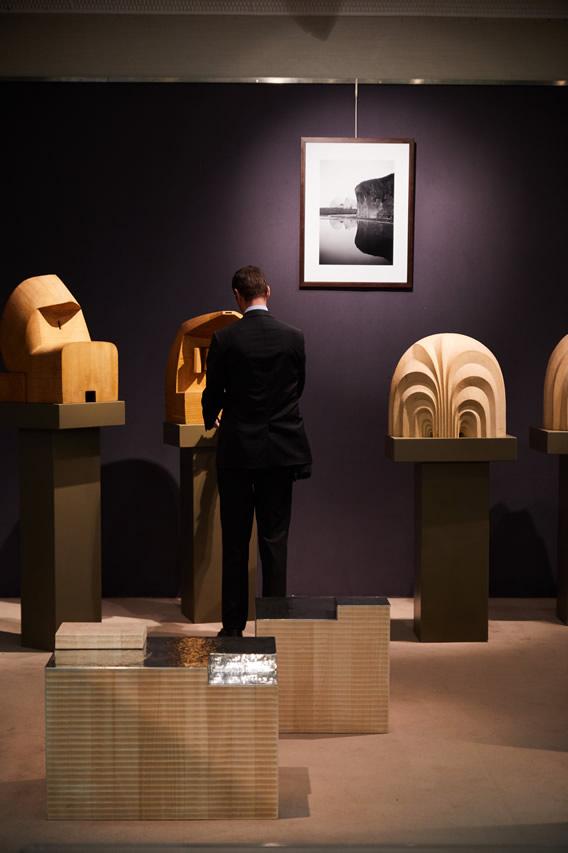 Nature & Architecture, Espace Tajan, Paris - Giuseppe Rivadossi's works