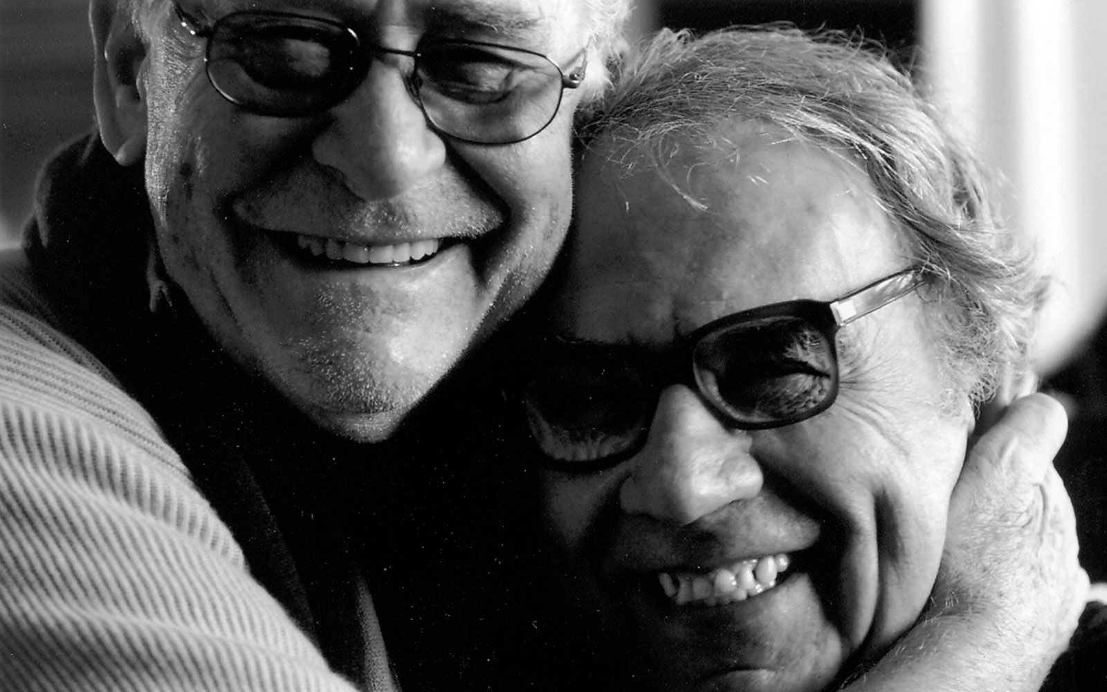 Giuseppe with film director Olmi Rivadossi Habito
