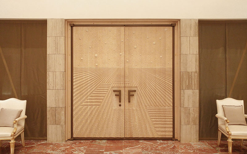 Entrance Door, Private Home Cucine Habito