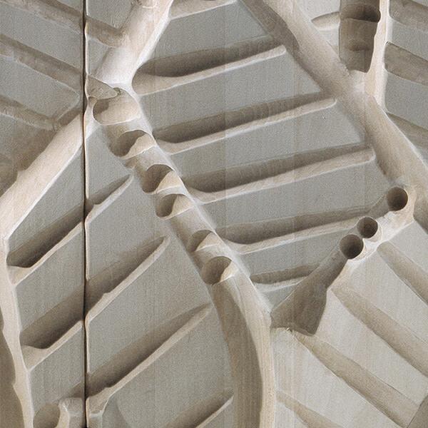Hand carved stone spirit texture Finitura Habito