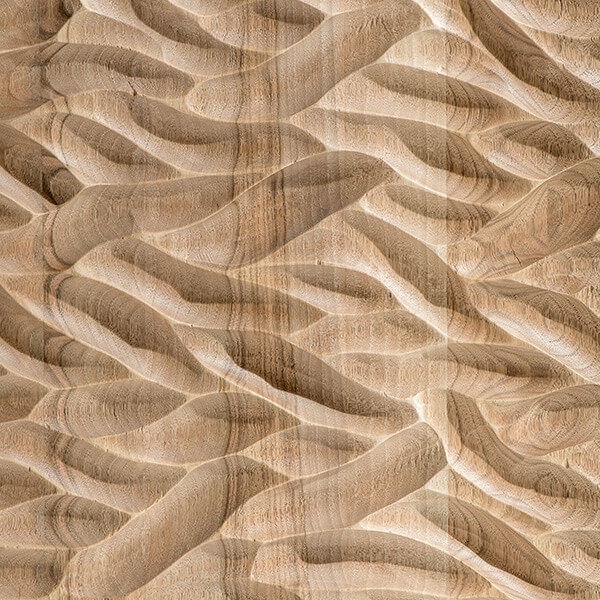 Hand carved wind spirit texture Finitura Habito